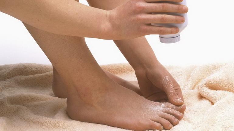 присыпка для ног от неприятного запаха