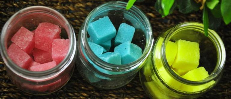 Сахарный скраб для тела: ингредиенты