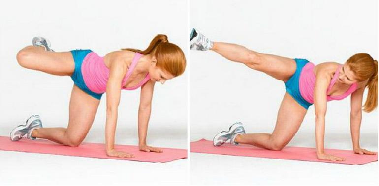 упражнения для похудения коленей