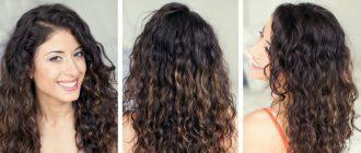 Девушка сделала волнистыми волосы с помощью косичек