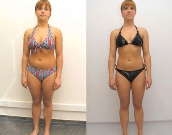 результат гречневой диеты: фото до и после
