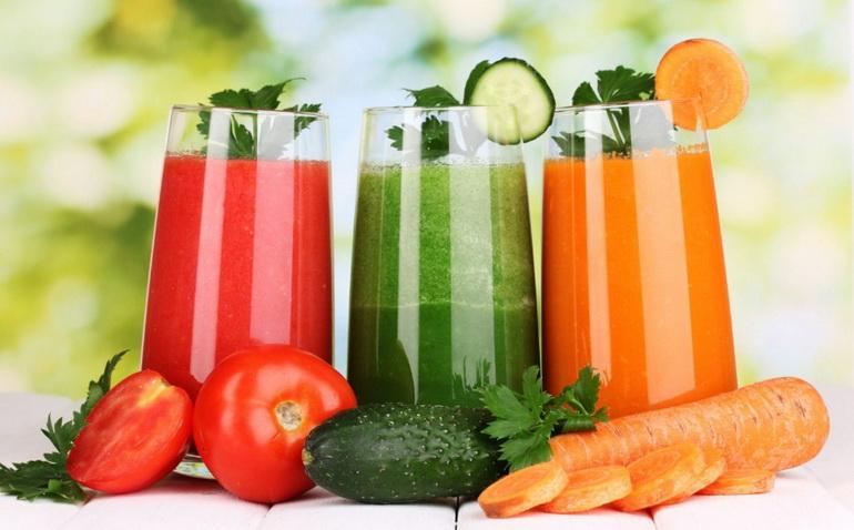 соки для питьевой диеты на 7 дней