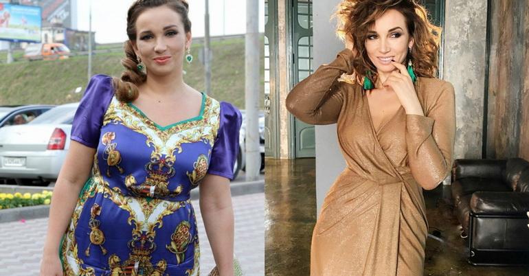 Анфиса Чехова: фото до и после