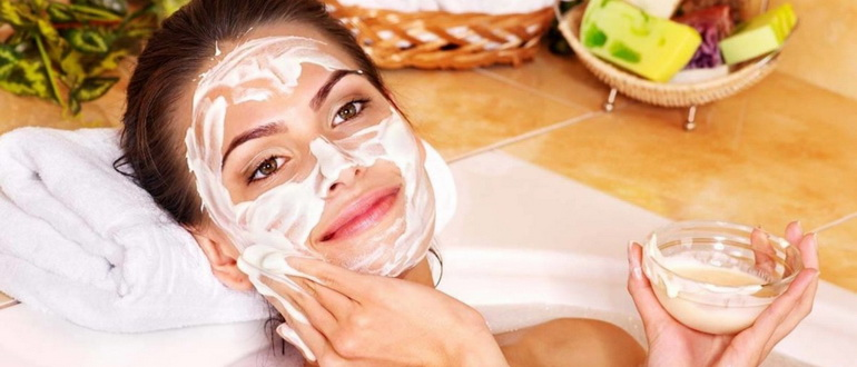 Кефирная маска для лица - как правильно наносить