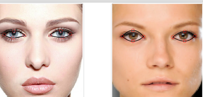 Выделение глаз