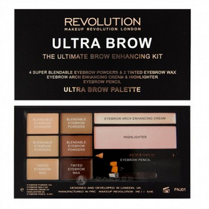 Тени ULTRA BROW PALETTE Fair to Medium