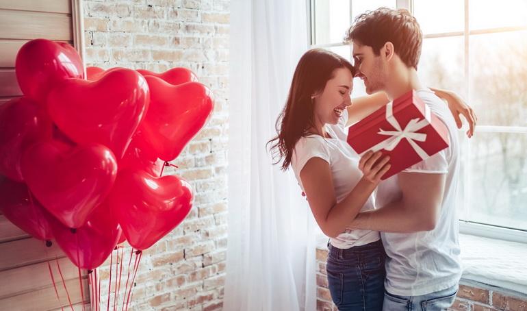 Романтический подарок мужчине